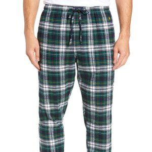 Polo Flannel Cotton Jogger Pajama Pants